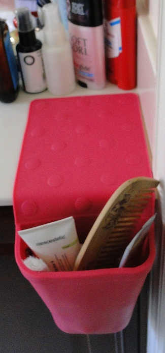 A pink Hot Iron Holster sample