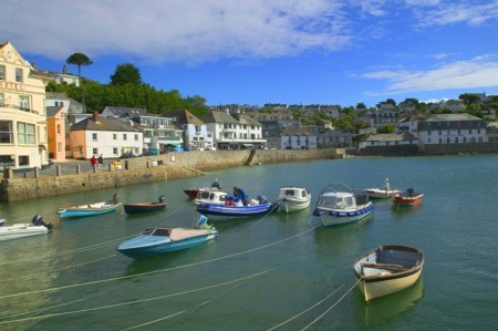 Boats in St Mawes